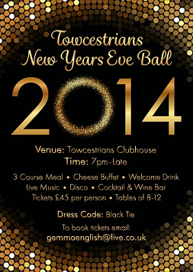 ball new year poster