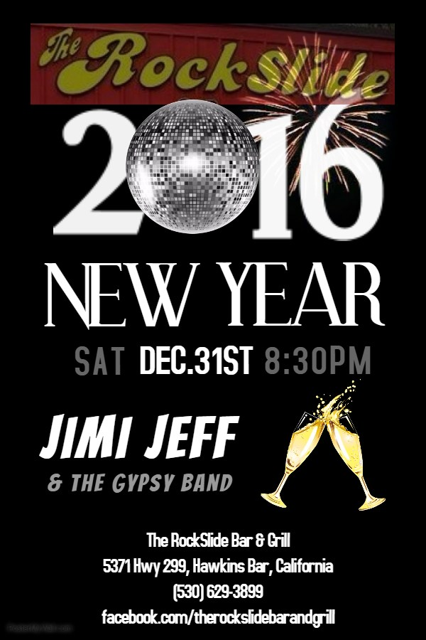 band new year poster