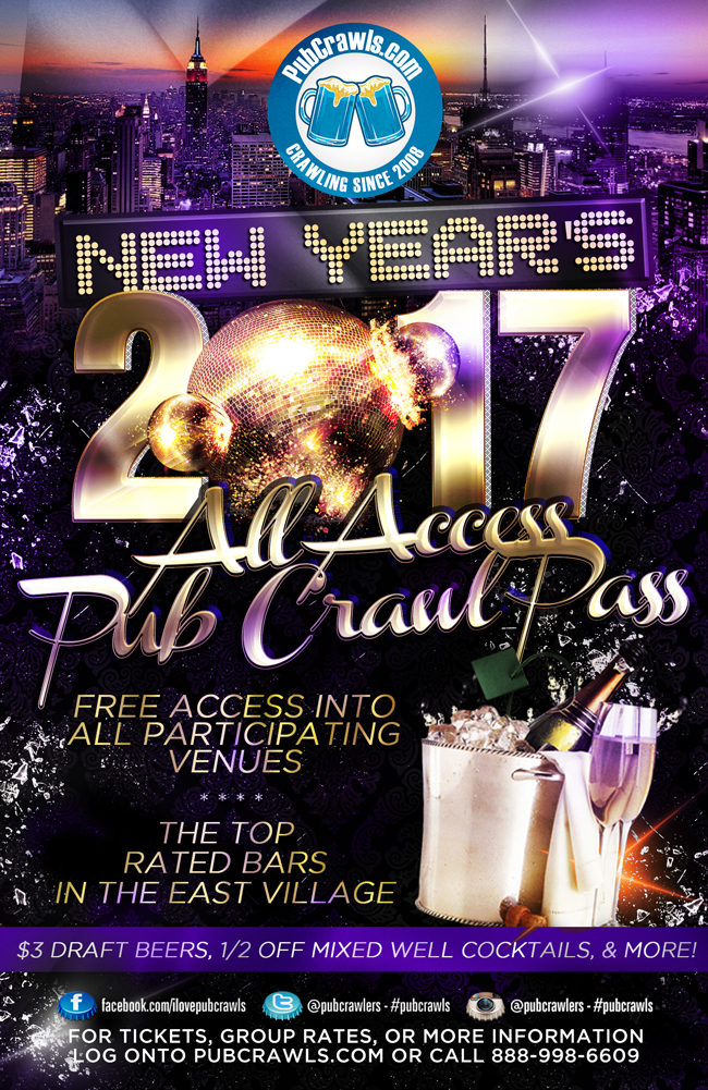 bar new year poster