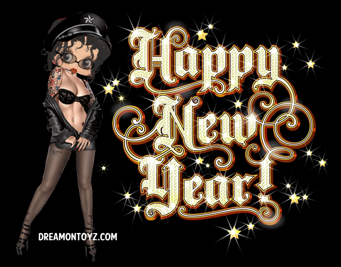 betty boop new year cards