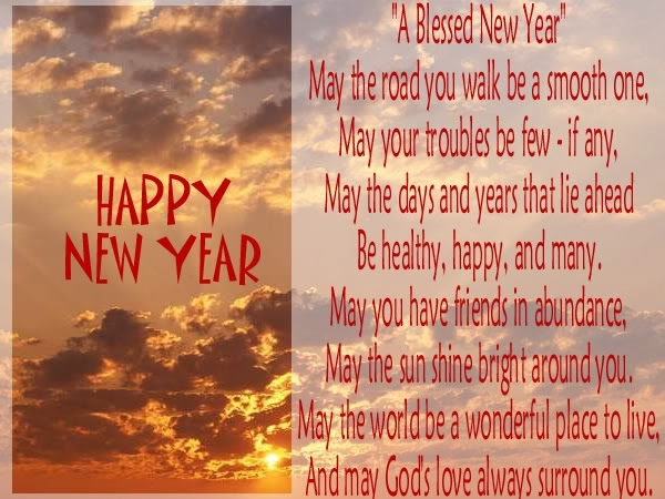 blessing new year messages