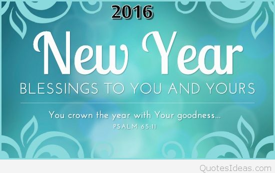 blessing new year saying