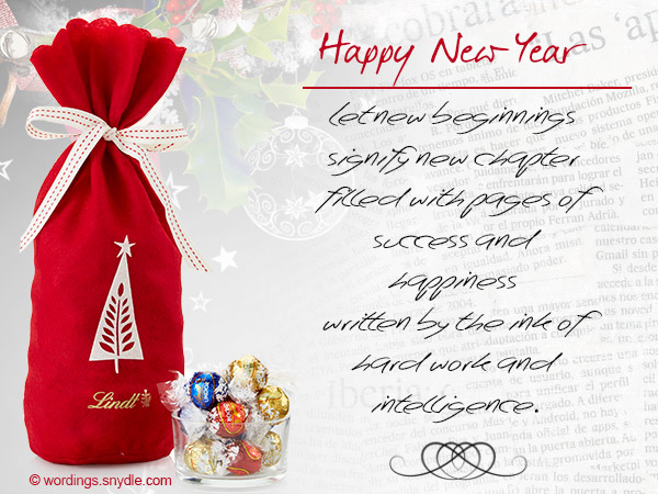 business new year greetings