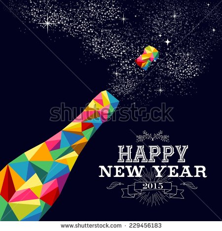 card new year poster