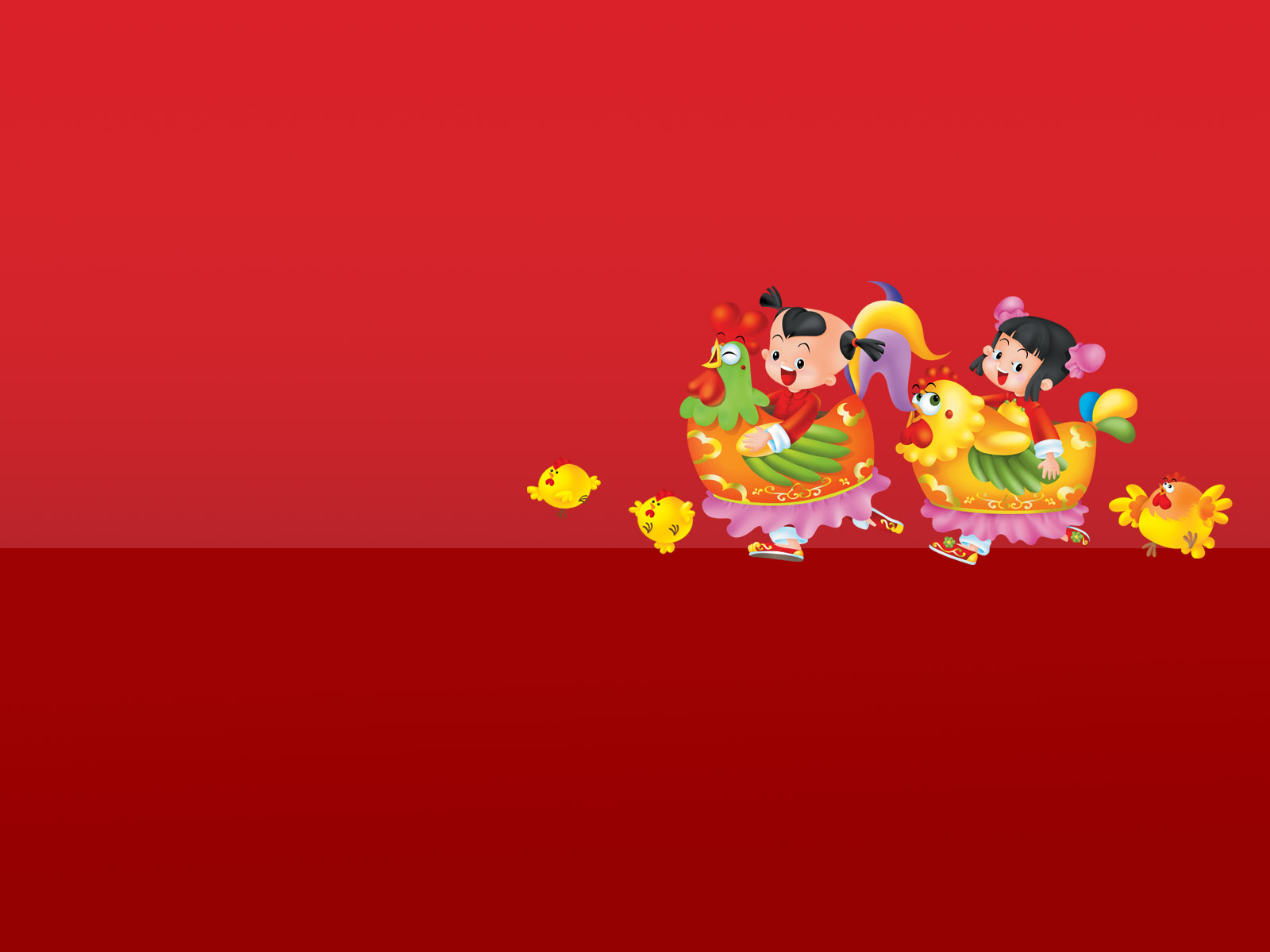 cartoon new year backgrounds