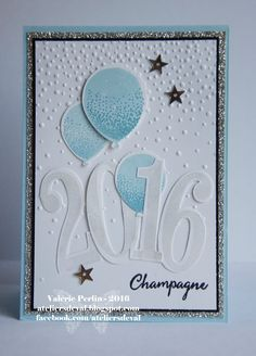 champagne bubble new year border