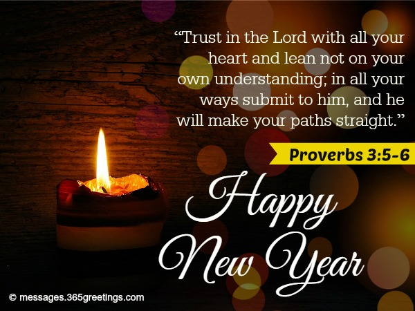 christians new year greetings
