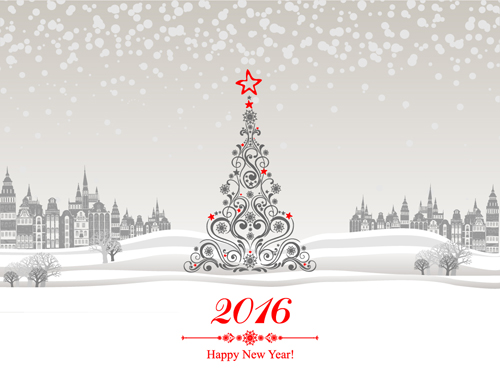 christmas tree new year backgrounds