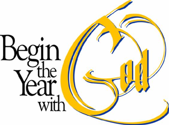 church new year clip art