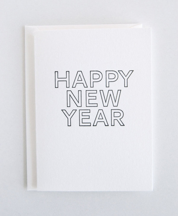 classy new year cards view source