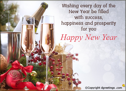 congratulation new year messages