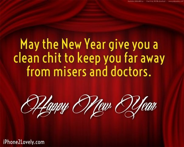 doctor new year greetings