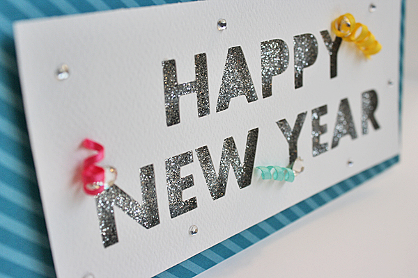 easy new year cards