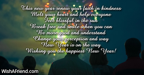 faith new year messages