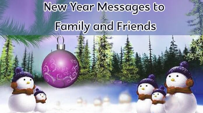 family friend new year messages