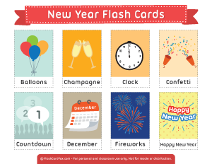 flash new year cards