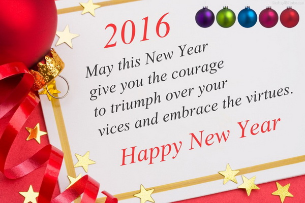 formal new year greetings