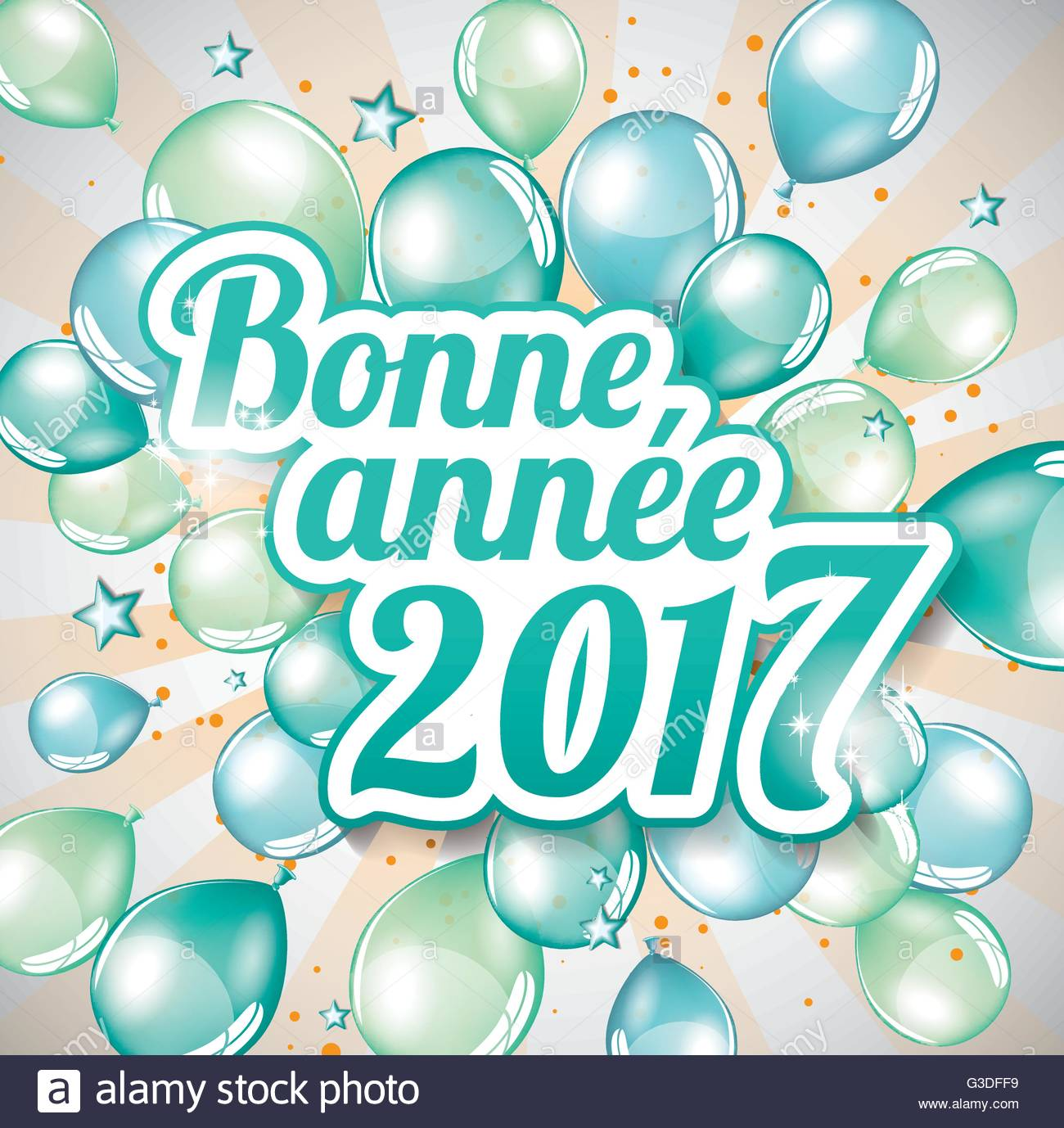 french new year cards