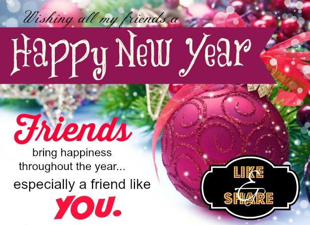 friend new year messages