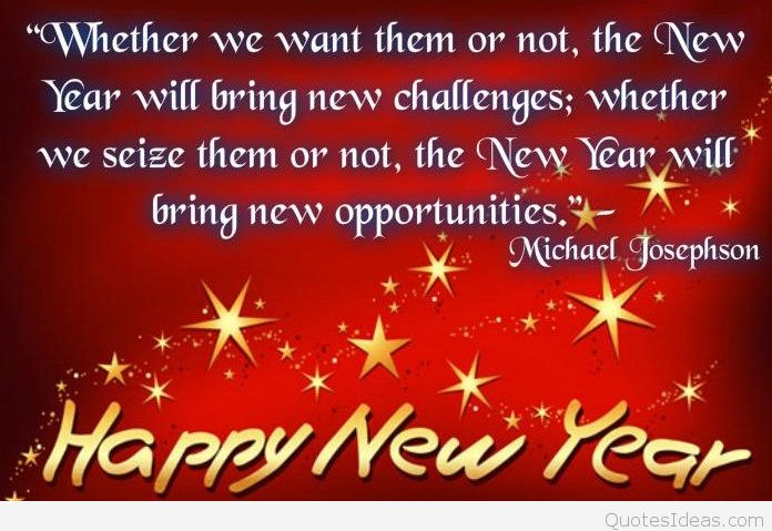 this is a new year a new beginning and things will change