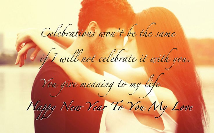 girlfriend new year saying