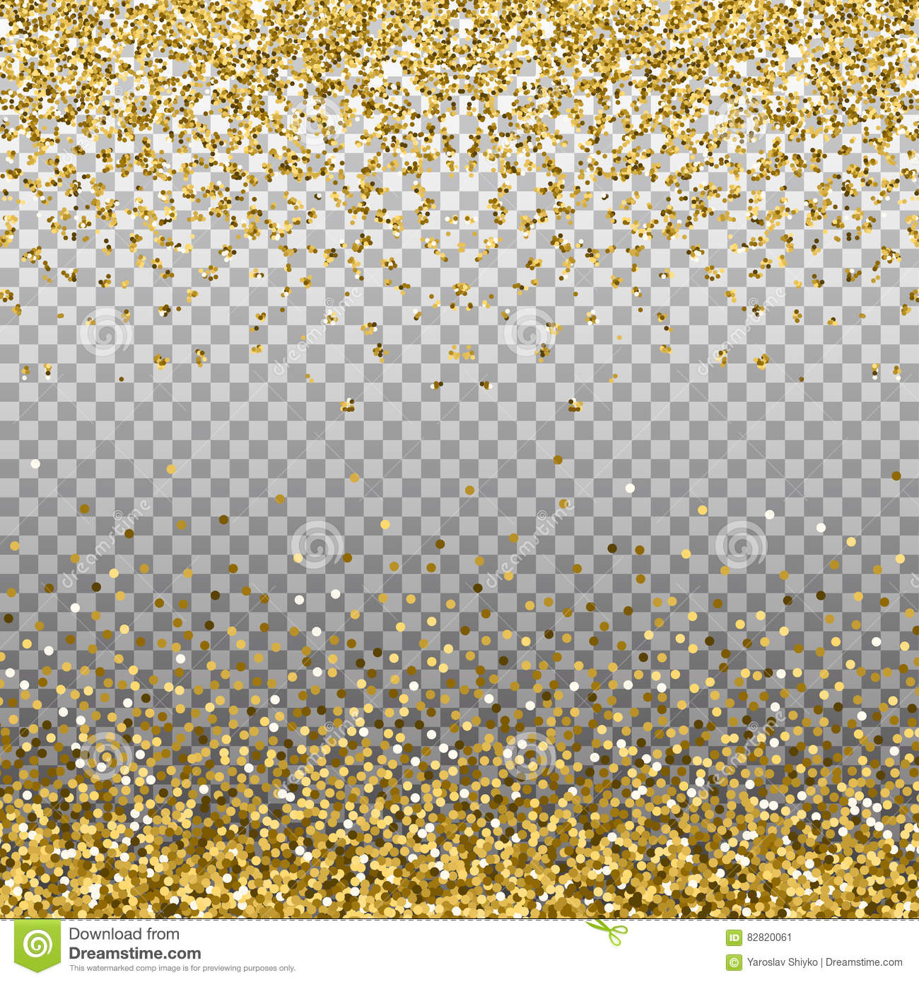 gold silver new year border