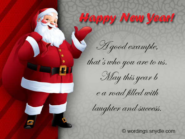 happy holiday new year messages
