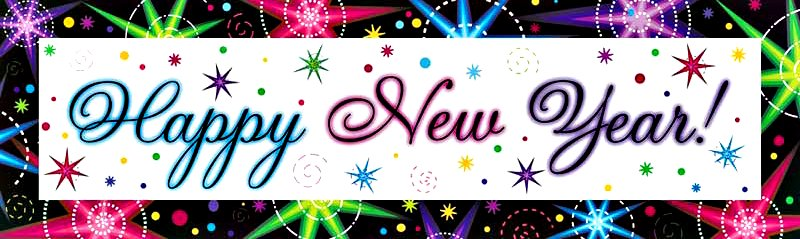 hapy new year banner