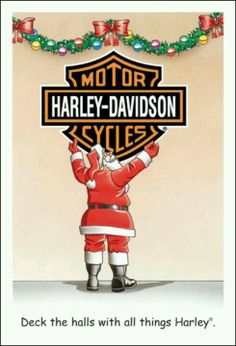 harley davidson new year cards