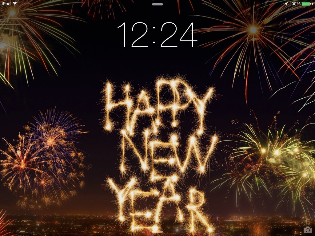 ipad new year backgrounds