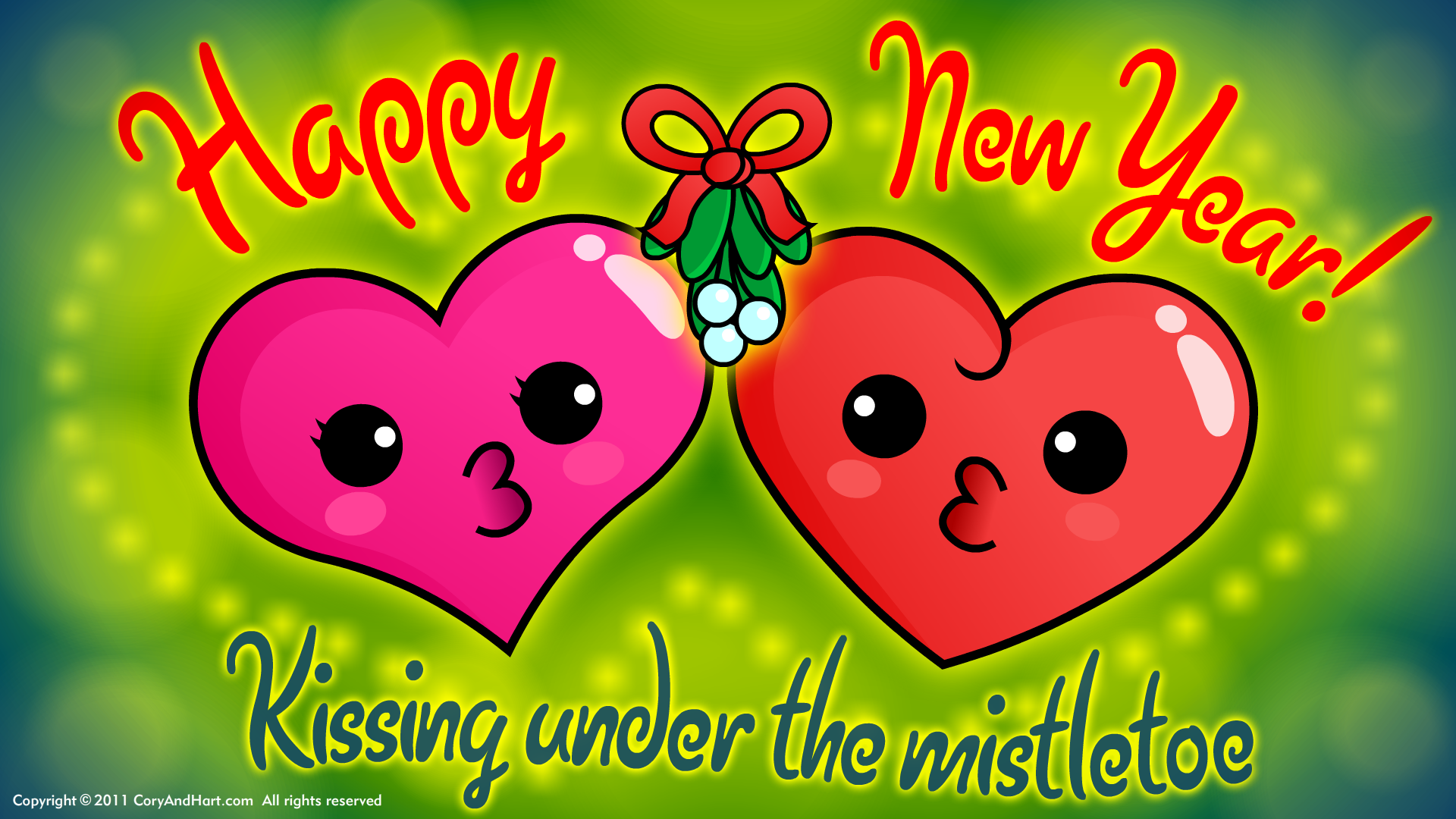love new year backgrounds