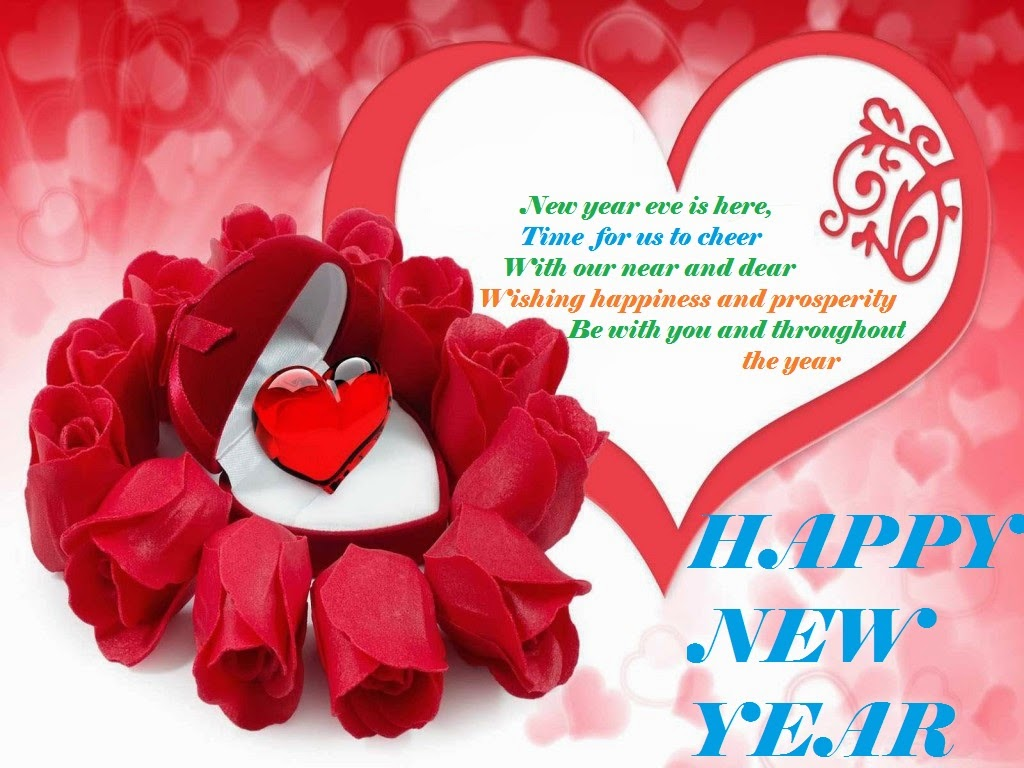 love new year greetings