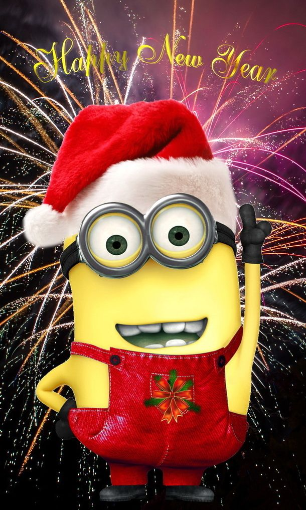 minion new year messages