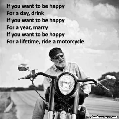 motorcycle new year saying
