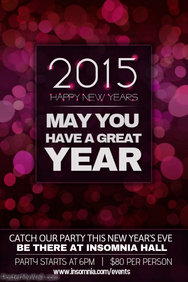 news new year poster