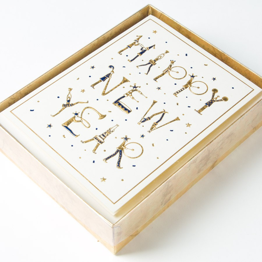 papyrus new year cards