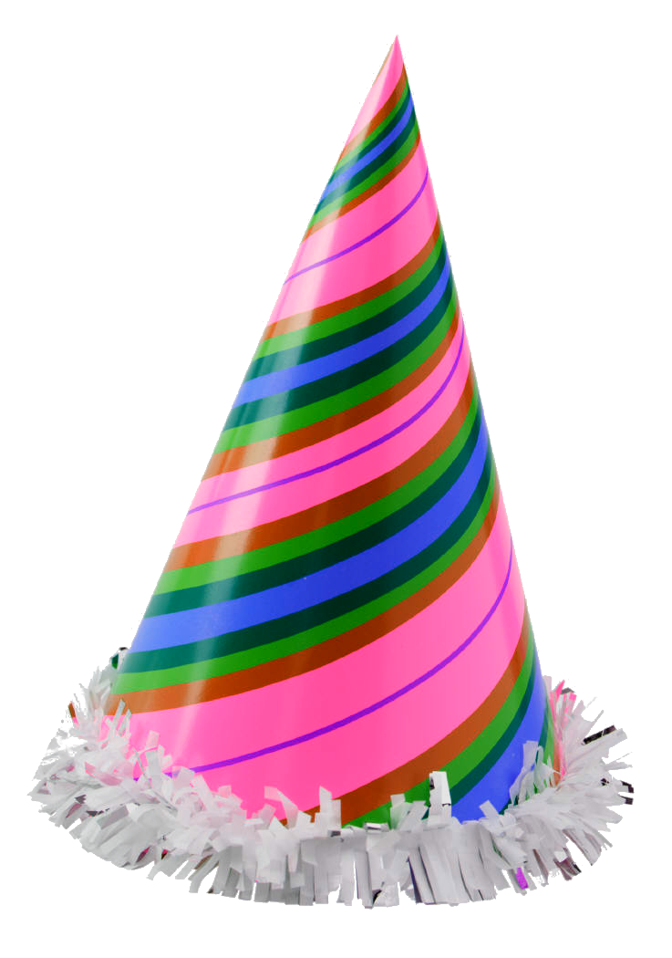 party hat new year drawings