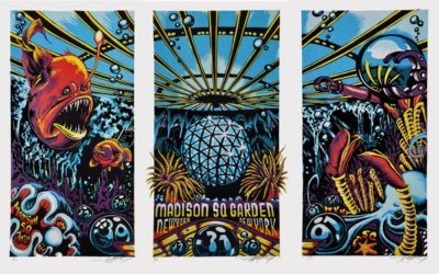 phish new year poster
