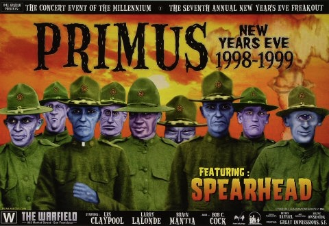 primus new year poster
