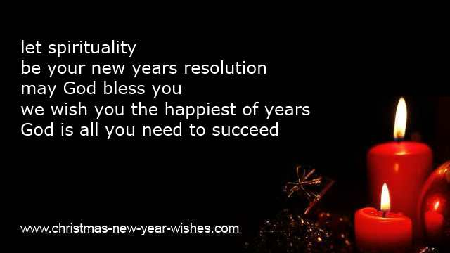 religious new year greetings