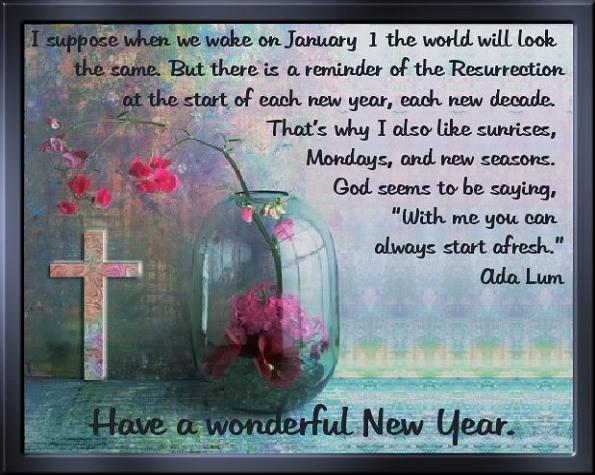 religious new year messages