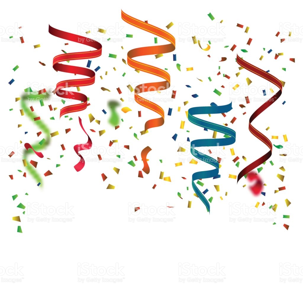 ribbon new year border