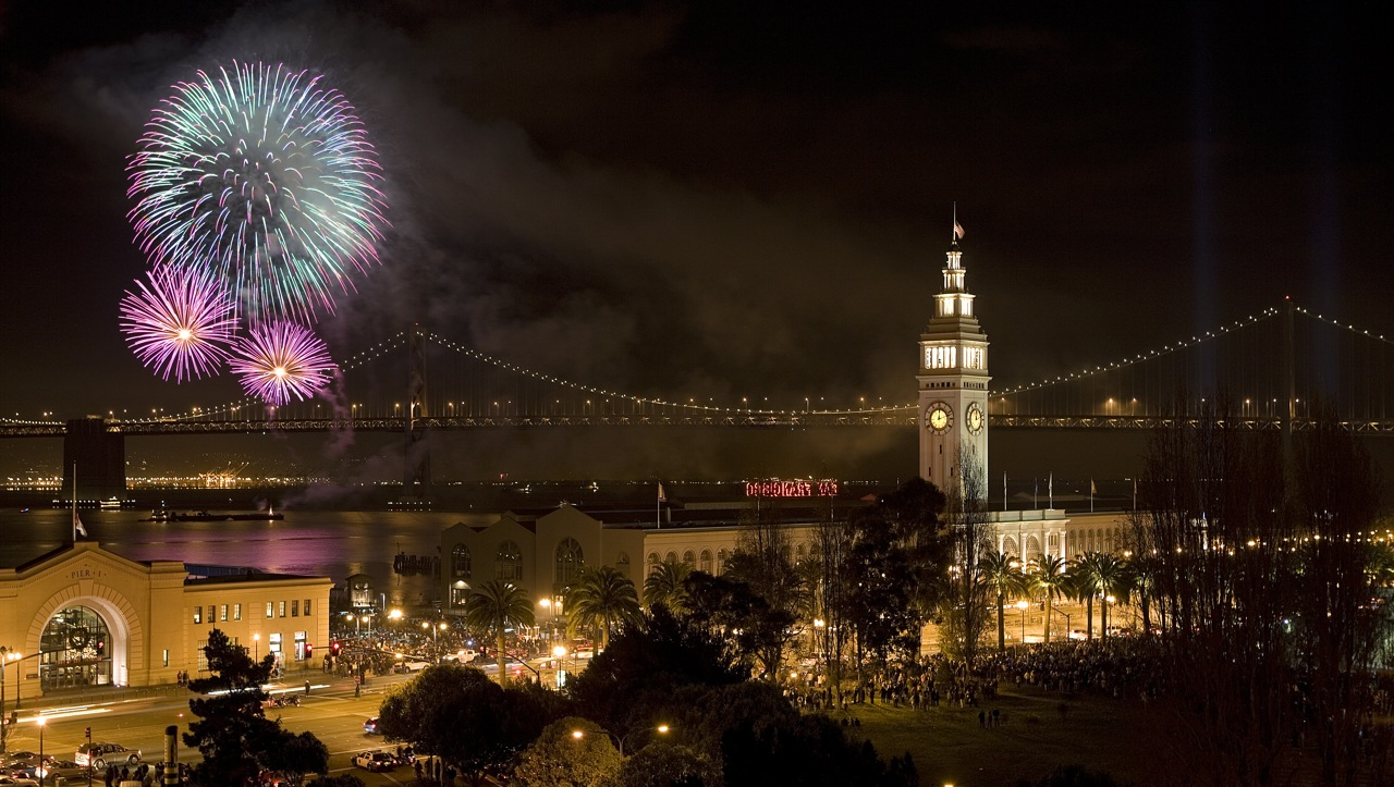 san francisco happy new year