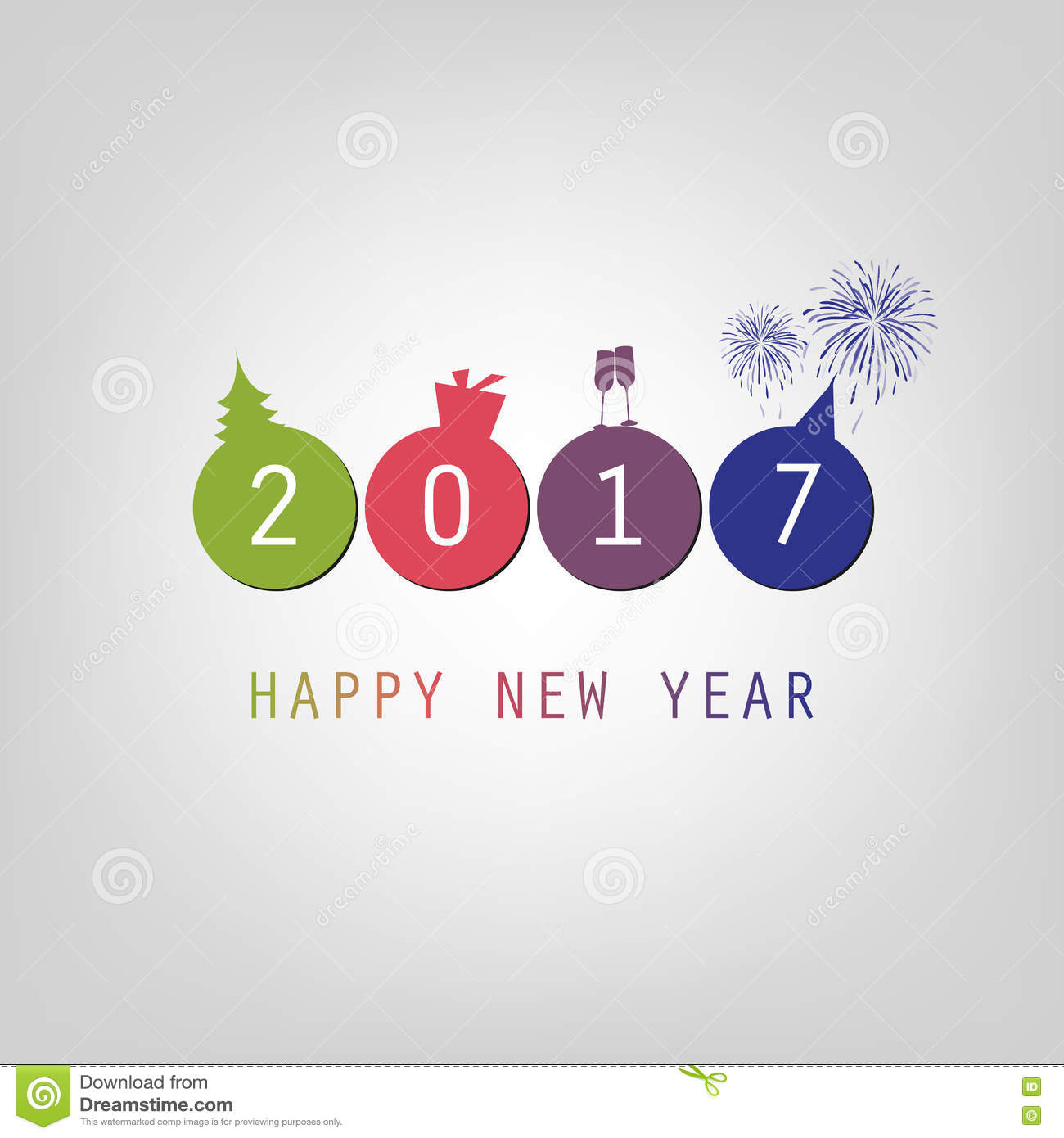 simple new year backgrounds