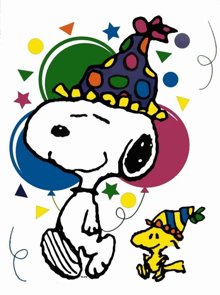 snoopy woodstock new year clip art