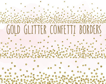 sparkly new year border