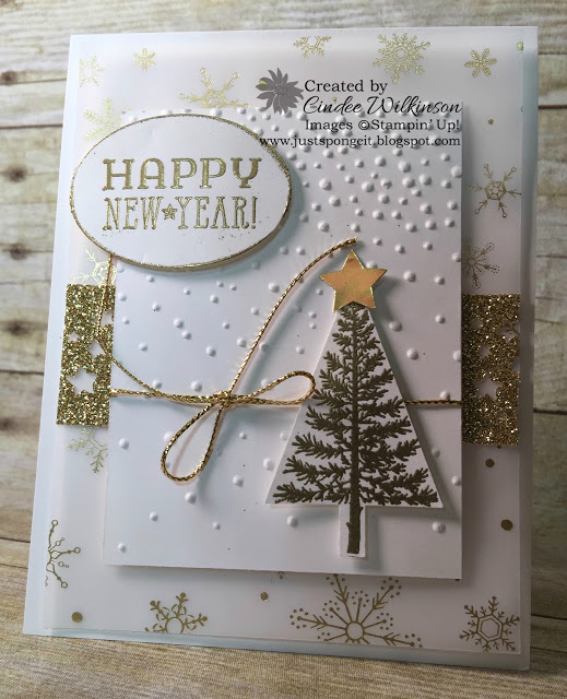 stampin up new year cards