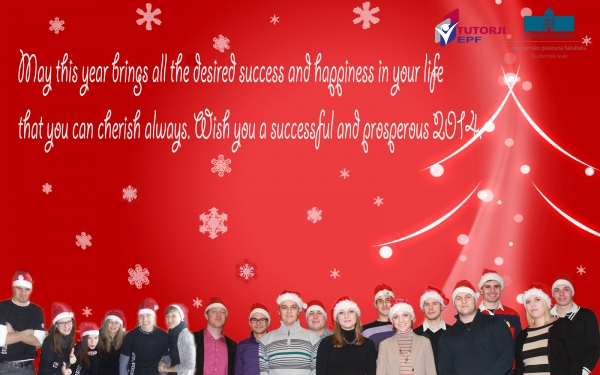 student new year greetings