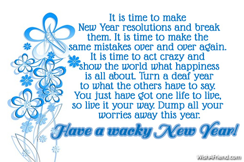 sweet new year messages