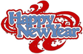 transparent background new year clip art